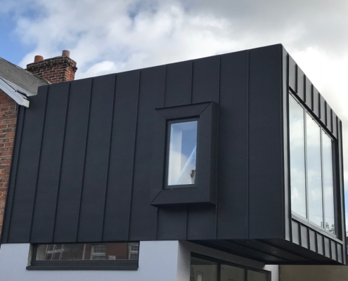Zinc Roofing Amp Cladding A Amp A Quinn Roofing