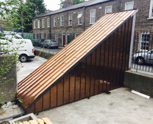 Copper Roofing Amp Cladding A Amp A Quinn Roofing