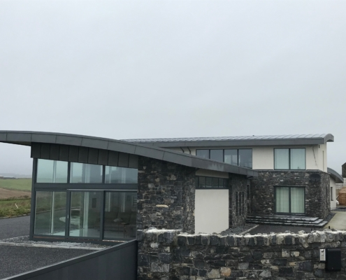 Zinc Roofing Cooper Cladding Aa Quinn Roofiing Ireland